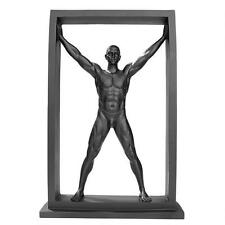 "13"" Contemporary Modern Male Man Nude Naked Sculpture Statue"