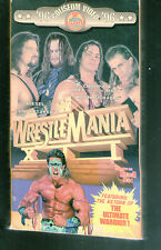 D VERY RARE WWF VHS tape  Wrestlemania XII  Ultimate Warrior Undertaker wwe wwwf