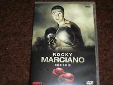 ROCKY MARCIANO UNDEFEATED DVD NEW HEAVYWEIGHT BOXING