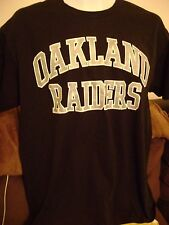 MENS OAKLAND- RAIDERS T-SHIRT-MEDIUM- EXCELLENT COND!  NFL-RAIDERS FOOTBALL