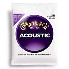 Martin Strings M535 Phosphor Bronze Acoustic Guitar Strings Custom Light 11-52