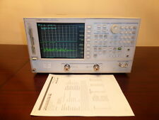 Agilent 8753ES 30 kHz to 6 GHz Vector Network Analyzer w/ Opts 002/006/010/1D5