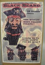 BLACKBEARD THE PIRATE Edward Teach MODEL KIT John Cherevka MINT IN BOX!