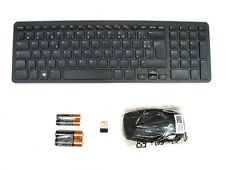 DELL KM713 Wireless Cordless Keyboard & Mouse Set Combo Kit FRENCH Layout Ref