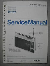 Philips 90 RL650 Kofferradio Service Manual