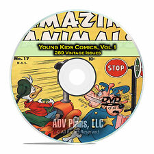Young Kids Comics, Vol 1, Funny Picture Stories, Supermouse, Golden Age DVD D50