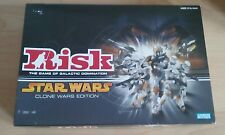 RISK STAR WARS CLONE WARS EDITION - 2004 - PARKER - BOARD GAME