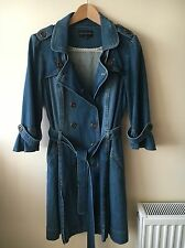 M&S Limited Collection Denim Coat. BNWOT. Size 18