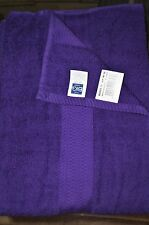 """THE BIG ONE Brights Bath Shower Exercise Towel """"Bright Purple"""" 30"""" x 54"""" New Tag"""