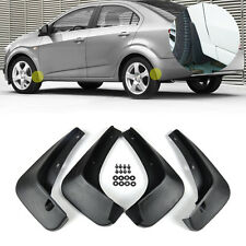Splash Guards Mud Flap Mudguard 4pcs Kit for Chevrolet Sonic/Aveo 2011 2012-2014