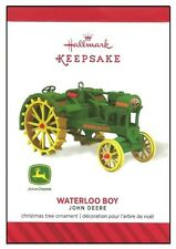 2014 Hallmark John Deere Waterloo Boy Tractor Ornament!