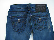 True Religion Billy Super T Quick Draw Wash Jeans Hose Denim 24