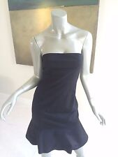 NWT VALENTINO R.E.D. BLACK STRAPLESS COCKTAIL DRESS SIZE IT 40 US 2 - 4