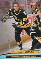 PITTSBURGH PENGUINS MARTIN STRAKA 1992-93 FLEER ULTRA #382 ROOKIE CARD RC