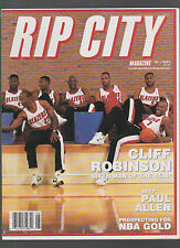 RIP CITY JUNE 1993 DREXLER KERSEY PORTER WILLIAMS DUCKWORTH PLUS ROBINSON POSTER