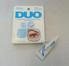 0,25 OZ DUO False Eyelash Glue Adesivo chiaro 7G IMPERMEABILE / occhi ciglia make up