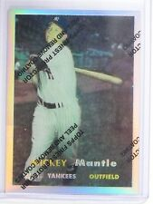 1996 Topps Mantle Finest Refractor Mickey Mantle #7 1957 *64814