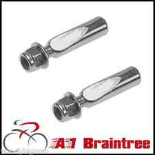 """9.5MM (3/8"""") COTTER PINS PAIR - COTTERED CRANK PIN CRANKS PEDAL PEDALS CHOPPER"""