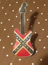 PIN´S - GUITAR WITH AMERICAN FLAG - GUITARRA - MUSIC - MUSICA - PIN  (E1046)