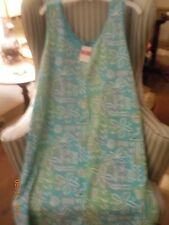 "NWT FRESH PRODUCE COTTON S/S ""COCONUT POINT"" SUNDRESS ON DELRAY (1X)"