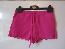 Bright Pink Hot Pants / Shorts by H&M in Size 6