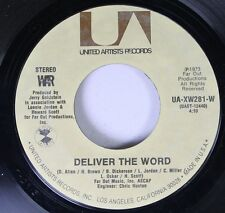 Soul 45 War - Deliver The Word / Gypsy Man On United Artists Records