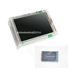 TFT LCD Touch Screen Display TBD Monitor + Case + Heatsinks For Raspberry Pi B+