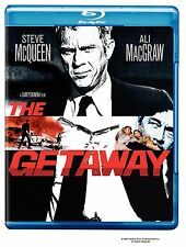 THE GETAWAY (1972 Steve McQueen)  -  Blu Ray - Sealed Region free