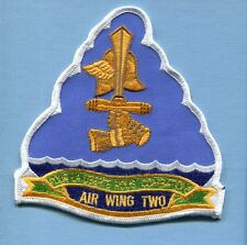 CARRIER AIR WING TWO CVW-2 EARLY VERSION US Navy Aircraft Carrier Squadron Patch