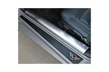 C5 Corvette 1997-2004 Stainless Inner Door Sill Covers Brushed