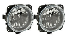 2005-2009 Mustang Roush Stage 1,2,3 Complete Clear Fog Lights H10 Bulbs - Pair