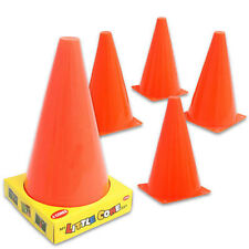 "9.5"" Traffic Cones Set 4 Football Training Soccer Skill Toy Markers Hockey Rugby"