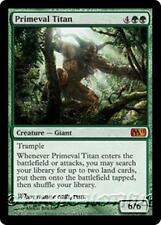 PRIMEVAL TITAN M11 Magic 2011 MTG Green Creature — Giant MYTHIC RARE