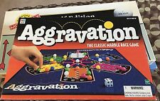 Aggravation THE CLASSIC MARBLE RACE GAME! COMPLETE ‼️