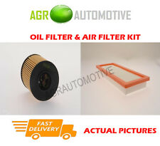 PETROL SERVICE KIT OIL AIR FILTER FOR CITROEN C4 PICASSO 1.6 150 BHP 2008-13