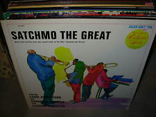 LOUIS ARMSTRONG satchmo the great ( jazz )