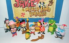 Disney Jake and The Never Land Pirates Mini Figure Set Toy Playset of 12
