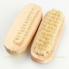 2pcs Wooden Double Side Nail Art Dust Scrubbing Brush Manicure Pedicure Cleaning