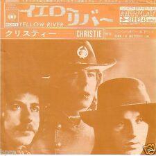 """7"""" VINYL JAPAN BRITISH BAND CHRISTIE """"YELLOW RIVER"""" 1970 UK No.1  EX/EX"""