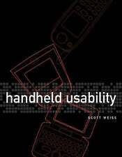 Handheld Usability by Scott Weiss (Paperback, 2002)