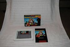 WARIO WOODS SUPER NINTENDO GAME COMPLETE IN BOX GREAT CONDITION