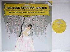 FISCHER DIESKAU SINGS R. STRAUSS LIEDER WITH SAWALLISCH PIANO DG 415 470 DIGITAL