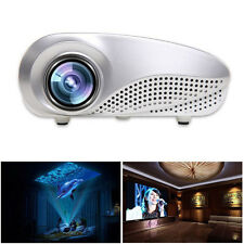 Mini Home Nuevo Multimedia Cine LED HD Proyector Soporte AV TV VGA USB HDMI SD