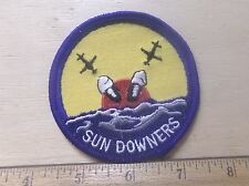 US Navy Sun Downers Embroidered Patch