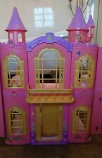 3ft  Large Disney Princess Castle Playset/Dolls House complete with Furniture.