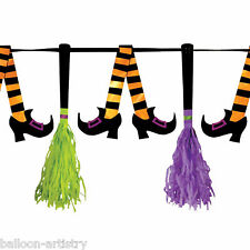 Halloween WEIRD WITCH & amici party carta Nappa pennant Banner Decorazione