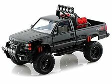 1992 CHEVROLET 454 SS PICKUP TRUCK OFF ROAD BLACK 1/24 MODEL CAR MOTORMAX 79134