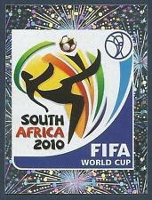 PANINI-SOUTH AFRICA 2010 WORLD CUP- #004-OFFICIAL LOGO OF SOUTH AFRICA 2010-FOIL