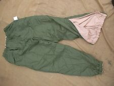 BRITISH ARMY UKSF ECW ECWCS PERTEX ARCTIC THERMAL desert od TROUSERS PANTS m NEW