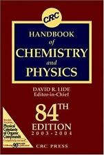 CRC Handbook of Chemistry and Physics, 84th Edition-ExLibrary